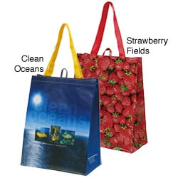 Traveler's Club Reuseable Shopping Bags (Case of 100)