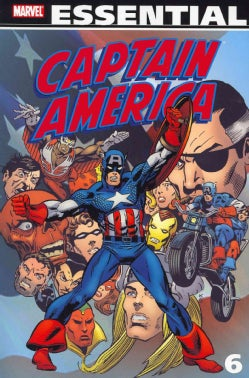Essential Captain America 6 (Paperback)