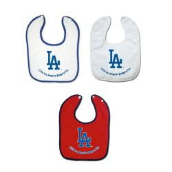 Full Color MLB Teams Body Snap Bibs (Pack of 3)