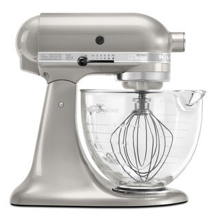 KitchenAid KSM155GBSR Sugar Pearl 5-quart Artisan Design Tilt-head Stand Mixer *with Rebate*