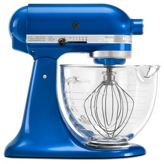 KitchenAid KSM155GBEB Electric Blue 5-quart Artisan Design Tilt-head Stand Mixer