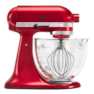 KitchenAid KSM155GBCA Candy Apple Red 5-quart Artisan Design Tilt-Head Stand Mixer *with Rebate*