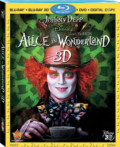 Alice in Wonderland 3D (Blu-ray/DVD)