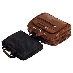 McKlein Rockford Leather Checkpoint-friendly 17-inch Laptop Briefcase