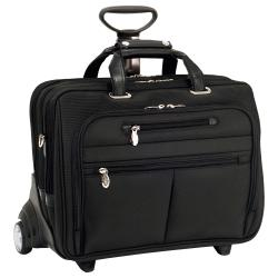 McKlein Ohare Nylon Fly-through Checkpoint-friendly 17-inch Laptop Case