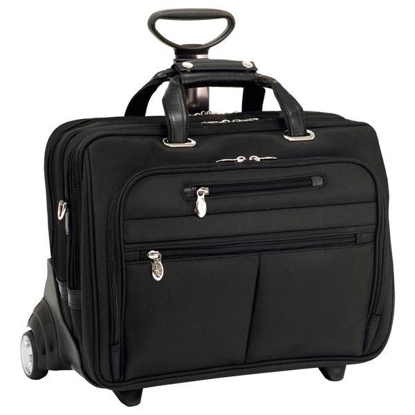 McKlein Ohare Nylon Fly-through Checkpoint-friendly 17-inch Laptop Case