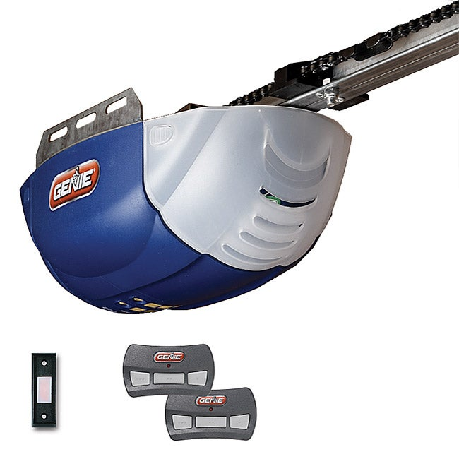 Genie dc 1022 2tx chain garage door opener 13101116 shopping great deals on - Everything to know about garage door opener when shopping ...