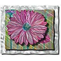 Ash Carl 'Zinnia' Metal Wall Art