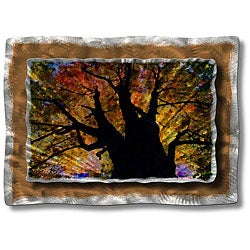 Ash Carl 'Brilliant Branches' Metal Wall Art