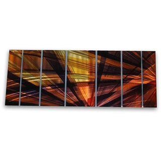 Ash Carl 'Formation' 7-piece Metal Wall Art Set