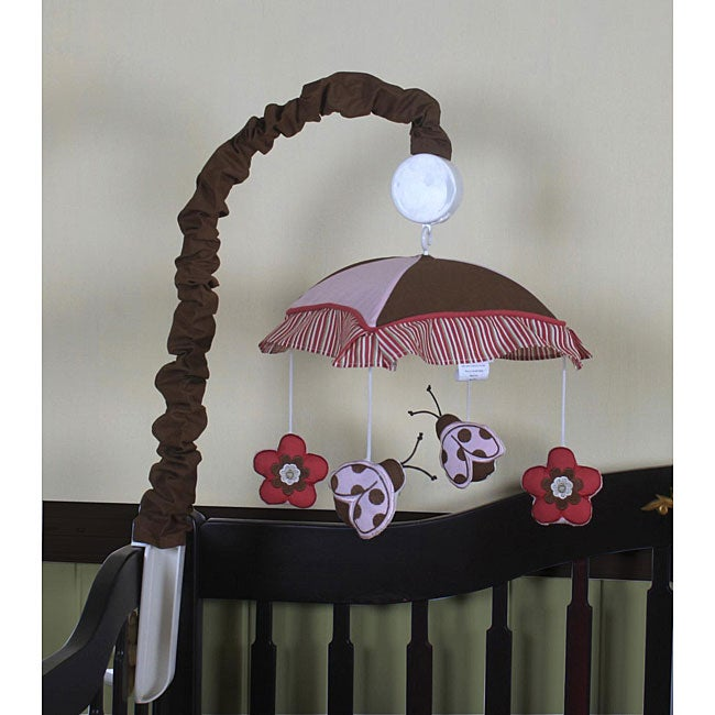 Ladybug and Flower Musical Mobile