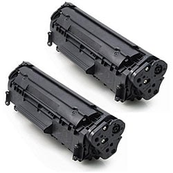 HP 12A Q2612A Compatible Black Toner Cartridge (Pack of 2)