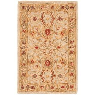 Safavieh Handmade Mahal Ivory Wool Rug (3' x 5')