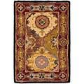 Handmade Heritage Bakhtiari Multi/ Red Wool Rug (2' x 3')