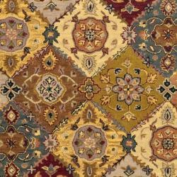 Safavieh Handmade Heritage Bakhtiari Multi/ Red Wool Rug (4' x 6')