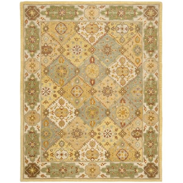 Safavieh Handmade Heritage Bakhtiari Multi/ Ivory Wool Rug (7'6 x 9'6)