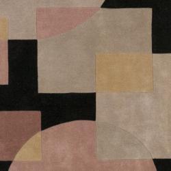 Safavieh Handmade Rodeo Drive Olive/ Black N. Z. Wool Rug (6' Square)