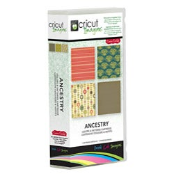 Cricut Imagine Ancestry Colors and Patterns Cartridge