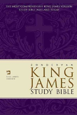 Zondervan King James Version Study Bible (Hardcover)
