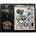 New Orleans Saints 2010 Collectible Photo Clock Plaque