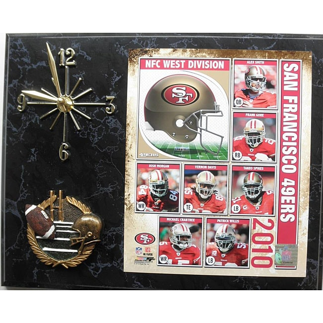 San Francisco 49ers Clock