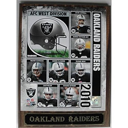 Oakland Raiders Photo Plaque
