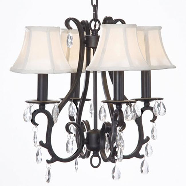 Gallery Versailles 4-light Wrought Iron Chandelier