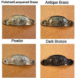 Solid Brass Vintage Chelsea Bin Pulls (Pack of 4)