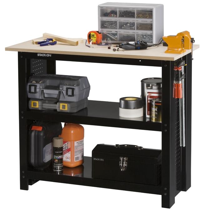 Stack-On 42-inch Steel Workbench