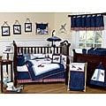 Sweet Jojo Designs Aviator 9-piece Crib Bedding Set