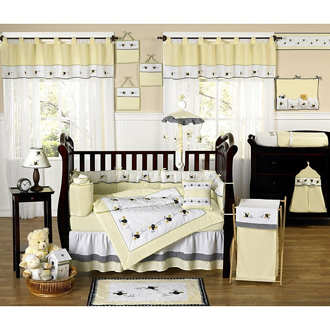 Bumble Bee 9-piece Crib Bedding Set