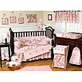 Sweet Jojo Designs Pink Camo 9-piece Crib Bedding Set