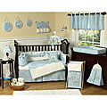 Sweet Jojo Designs Fish 9-piece Crib Bedding Set