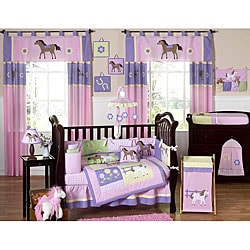 Pony 9-piece Crib Bedding Set