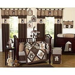 Sweet Jojo Designs Teddy Bear 9-piece Crib Bedding Set