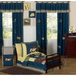 Sweet JoJo Designs Construction Zone 5-piece Toddler Boy's Bedding Set
