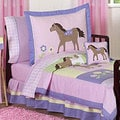 Sweet JoJo Designs Pretty Pony Horse 5-piece Toddler Girl's Bedding Set