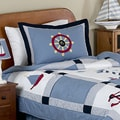 Sweet JoJo Designs Come Sail Away Nautical Boy's Bedding Set