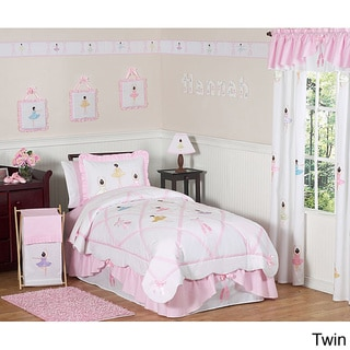 Sweet JoJo Designs Pink Comforter Set