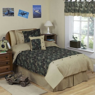 Sweet JoJo Designs Green Comforter Set