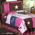 Sweet JoJo Designs Cowgirl Girl's Quilt Set