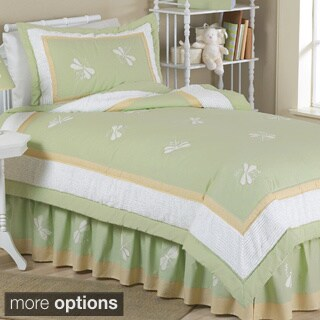 Sweet JoJo Designs Dreams Dragonfly Bedding Set