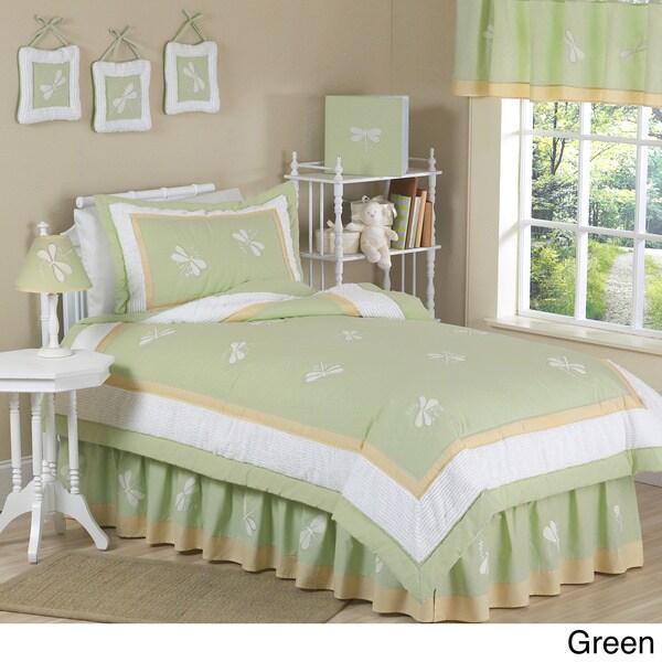 Sweet JoJo Designs Dreams Dragonfly Bedding Set