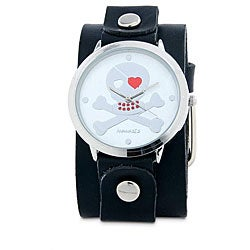 Nemesis Women's Love Skull Quartz Watch