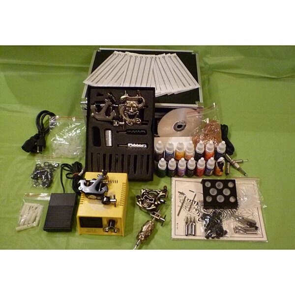 Design Element Emerpac Professional 4-Gun Tattoo Machine Kit