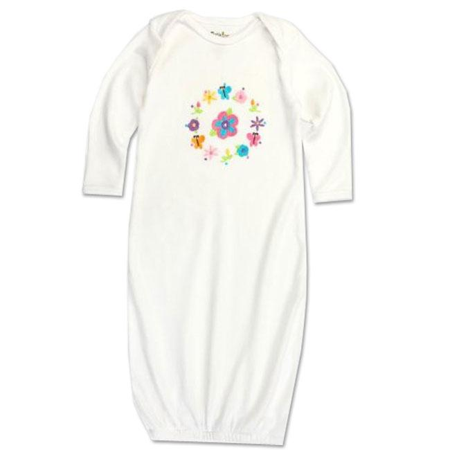 Funkoos Flower Ring Organic Cotton Baby Sleep Gown