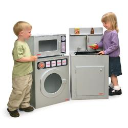Mini Chef Play Kitchen Sink/ Microwave/ Washer