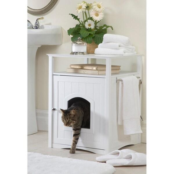 Merry Products Hidden Cat Litter Box Enclosure