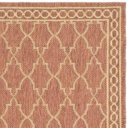 Safavieh Contemporary Indoor/Outdoor Rust/Sand Rug (2'7