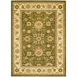Safavieh Lyndhurst Collection Majestic Sage/ Ivory Rug (9' x 12')